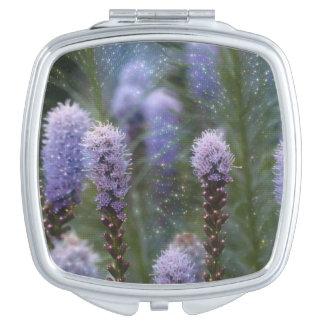 Blazing Star Flower Makeup Mirrors