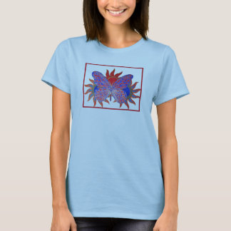 Blazing Sun Butterfly T-Shirt
