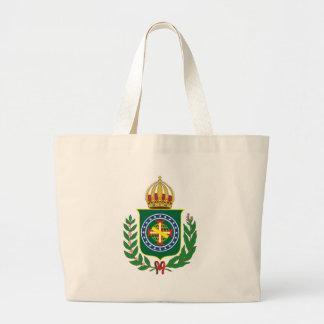 Blazon Empire of Brazil Large Tote Bag