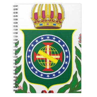 Blazon Empire of Brazil Spiral Notebook