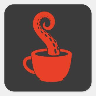BLC Logo Sticker, black Square Sticker