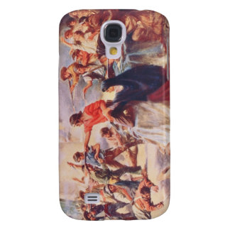 Ble of the Alamo by Percy Moran Galaxy S4 Covers