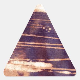 bleach scruffily / wet triangle sticker