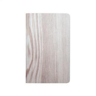 Bleach Wood Grain Pocket Journal