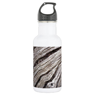 Bleached Australian hardwood of fallen gum tree 532 Ml Water Bottle