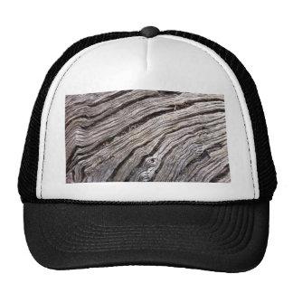 Bleached Australian hardwood of fallen gum tree Mesh Hats