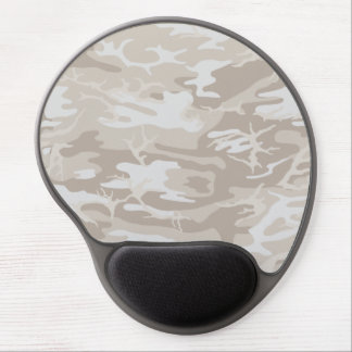 Bleached Wasteland Camo Gel Mouse Pad