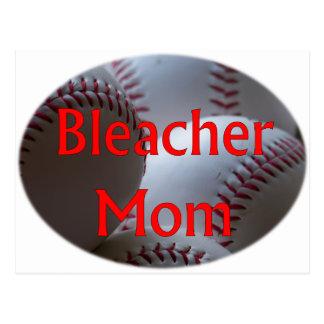 Bleacher Mom Baseball Postcards