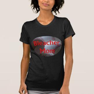 Bleacher Mom Baseball T Shirt