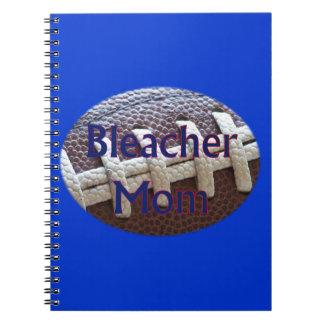 Bleacher Mom Football Spiral Note Books