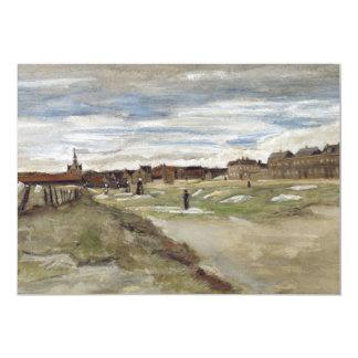 Bleaching Ground at Scheveningen by Van Gogh Personalized Invitations