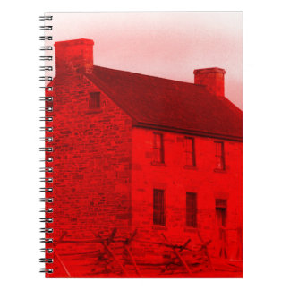 Bleakmoore Manor Spiral Notebook