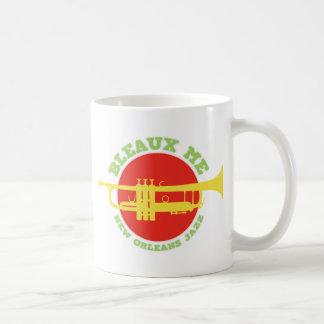 Bleaux Me - New Orleans Jazz Coffee Mug