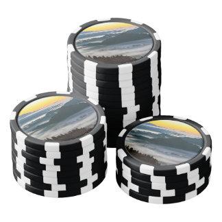 Bled at Sunset Poker Chips