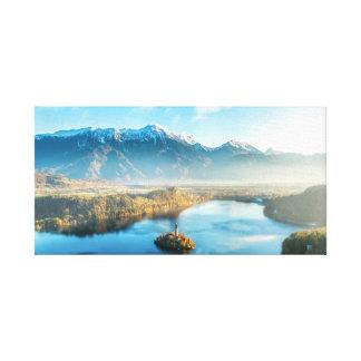 Bled, Slovenia landscape Canvas