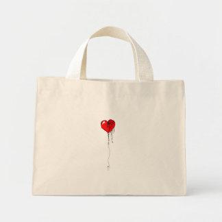 Bleeding Heart Canvas Bags