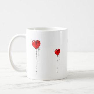 Bleeding Heart Basic White Mug