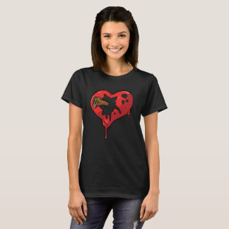 Bleeding heart designs T-Shirt