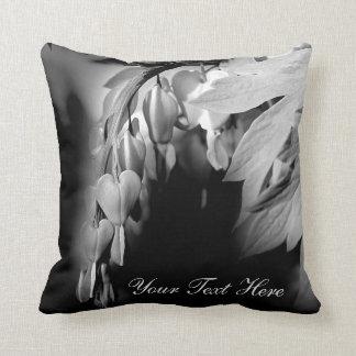 Bleeding Heart Flowers Personalised Cushions