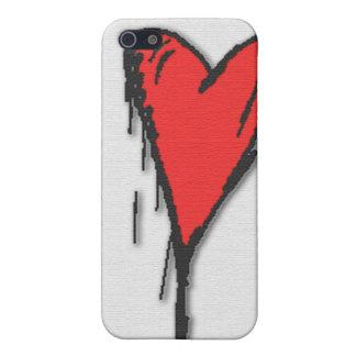Bleeding Heart iPhone 5 Cover