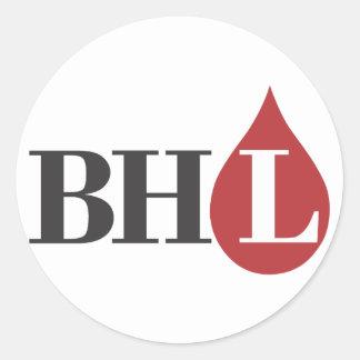 Bleeding Heart Libertarians! Round Sticker