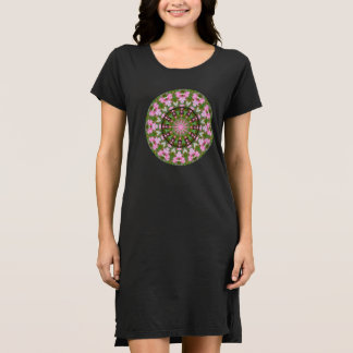 Bleeding Heart Nature, Flower-Mandala D.1 Dress