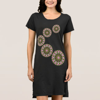 Bleeding Heart Nature, Flower-Mandala D.5.1 Dress