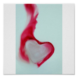 Bleeding Heart of Ice Poster