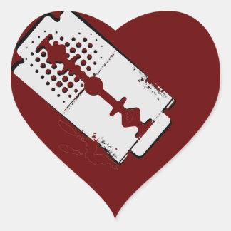 bleeding heart - sticker