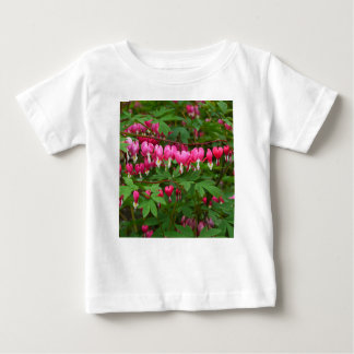 Bleeding Hearts Nature, Photo Baby T-Shirt