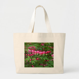 Bleeding Hearts Nature, Photo Large Tote Bag