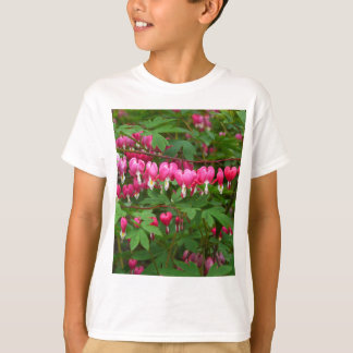 Bleeding Hearts Nature, Photo T-Shirt
