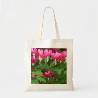 Bleeding Hearts Nature, Photo Tote Bag