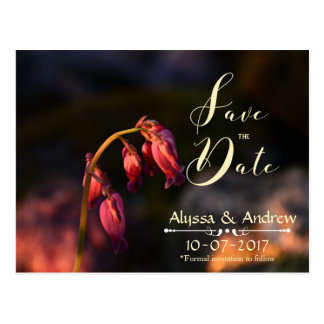 Bleeding Hearts Save the Date Cards