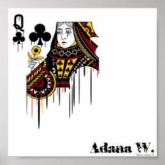 Bleeding Queen Poster
