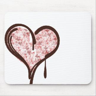 bleedingheart mouse pad