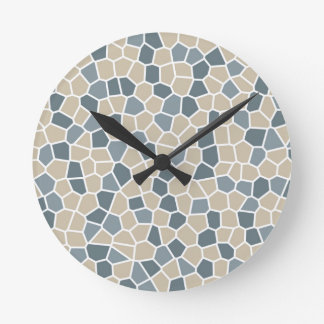 Bleeker Beige, Charlotte Slate, Van Courtland Blue Clocks