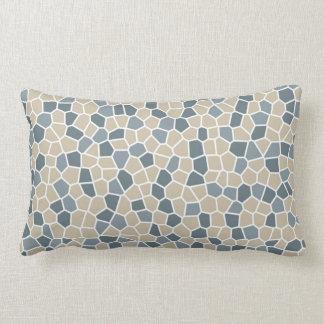 Bleeker Beige, Van Courtland Blue, Charlotte Slate Lumbar Cushion