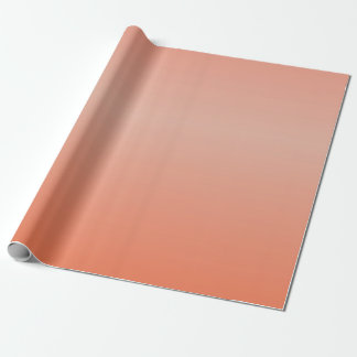 Blended Orange Wrapping Paper