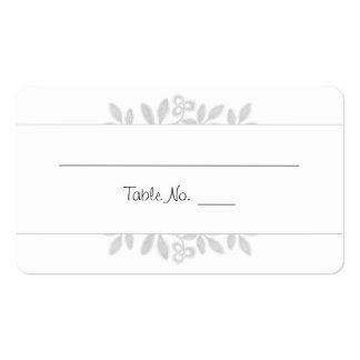 Blended Wedding Collection Escort Cards Pack Of Standard Business Cards