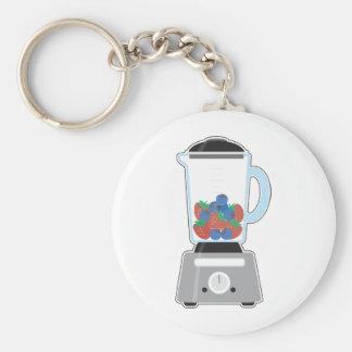 Blender Basic Round Button Key Ring