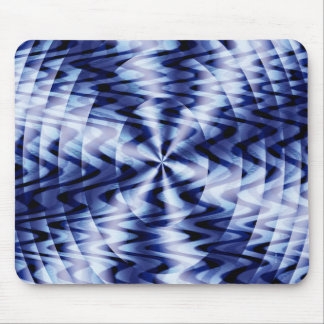 Blending in blue waves... mouse pad