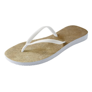 Blends of Yellow Gold Blended FlipFlops Thongs