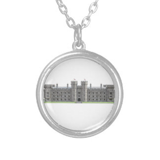 Blenheim Castle Silver Plated Necklace