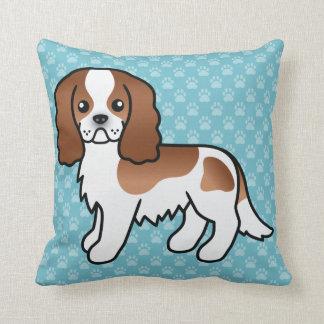 Blenheim Cavalier King Charles Spaniel Dog Pillow