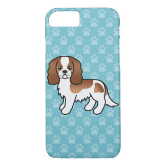 Blenheim Cavalier King Charles Spaniel Dog iPhone 8/7 Case