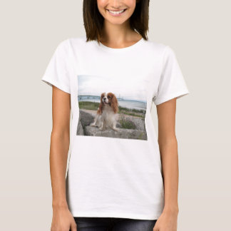 Blenheim Cavalier Mackinaw Bridge Michigan T-Shirt