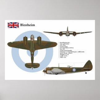 Blenheim Mk 1 Greece Poster