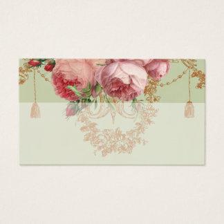Blenheim Rose- Elegant Sage Green - Place card