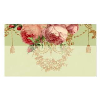 Blenheim Rose- Elegant Sage Green - Place card Pack Of Standard Business Cards